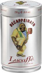 Lucaffé Koffeinmentes 100% arabica, őrölt, pörkölt díszdobozos kávé